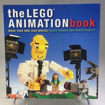 LEGO MAKE Your Own Movie Book Kit - Stop Motion Film Guide - 80 ...