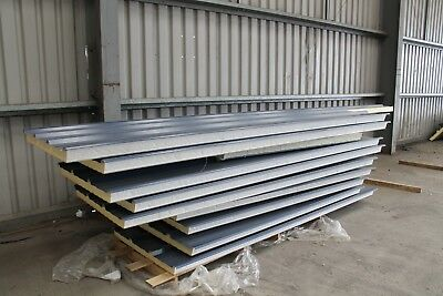 Composite Insulated Roof sheets - Goosewing Grey
