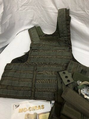 Eagle Industries Land CIRAS Vest Ranger Green Small FBI DEA RLCS Rangers