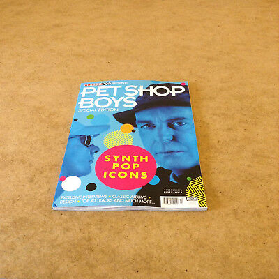 CLASSIC POP PRESENTS PET SHOP BOYS SPECIAL EDITION SYNTH POP ICONS COVER No.1