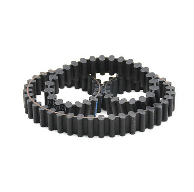 DXL-376//384//390 Double Sided Toothed Rubber Synchronous Timing Belt 10mm Width