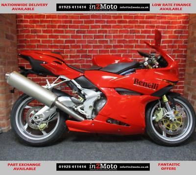 BENELLI TORNADO TRE 900cc VERY LOW MILEAGE WITH EXTRAS