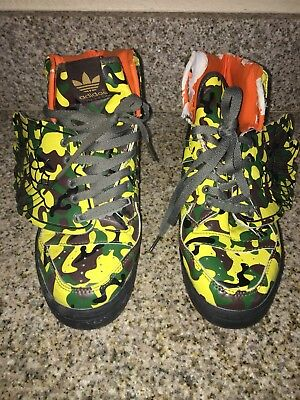 adidas jeremy scott Mens Athletis Wing Sneakers Size 8.5 Us