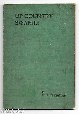 Dictionary AFRICA 1948 Swahili/English Up-Country for Soldiers Settlers Merchant