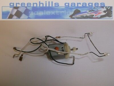 Greenhills Scalextric Ford Mondeo lighting loom and engine  - Used -P3724 ##x