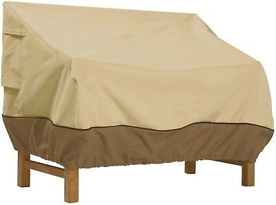 """Patio Bench And Loveseat Furniture Storage Cover, Small, Fits Up To 58"""" x 32.5"""""""