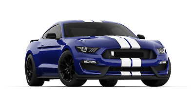 2018 Ford Mustang SHELBY GT350 NEW 2018 FORD MUSTANG SHELBY GT350 KONA BLUE CONVENIENCE PACK