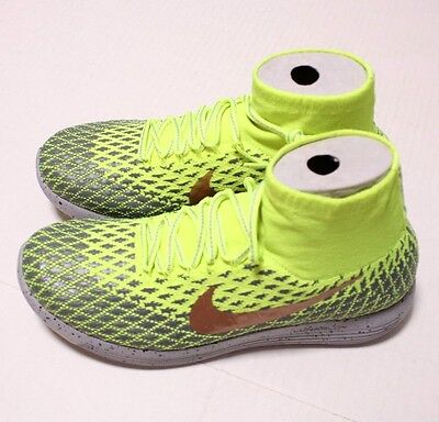 reputable site 73e16 290a4 Nike Lunarepic Flyknit Shield Mens Running Shoes, Size 10, 849664 700, Org  200