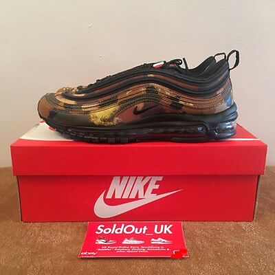 Nike AIR MAX 97 QS Camo L'ITALIA UK9/US10 Paese Pack Deadstock