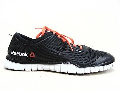 9cb77a08a028 Reebok Mens shoes NANOWEB ZRATED Trainer Workout black sneakers Size 10.5  023501