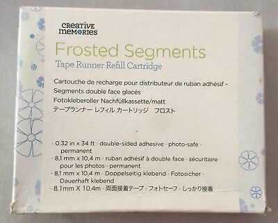 Creative Memories Tape Runner Refill - Frosted Segments