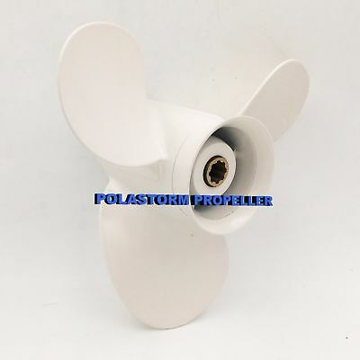 "Boat Aluminum Outboard Propeller 9-1/4X9 3/4"" for Yamaha 9.9-15HP 683-45952-00-E"