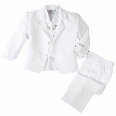 Spring Notion NEW White Baby Boys Size 24 Months (XL) 2-Piece Suit Set $30 285