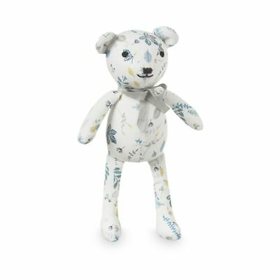 Teddy Bear - Pressed Leaves Blue baby kids stuffed toy plush animal gift