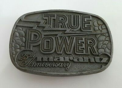 Marantz 25th Anniversary True Power Belt Buckle