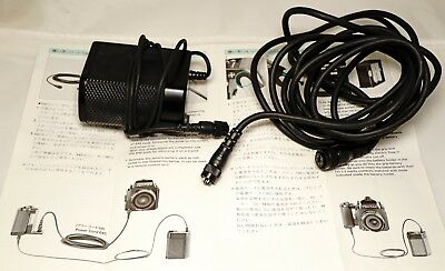 Mint- Pentax 645 very clever power cord and cold weather remote battery pack