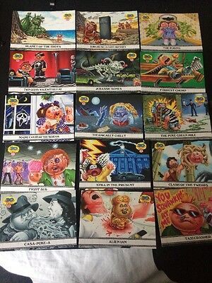 Garbage Pail Kids 30th Anniversary Famous Movie Card 15/15