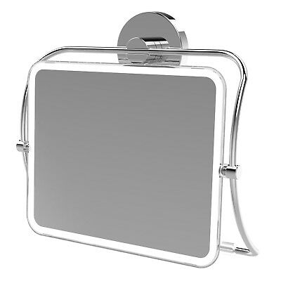 Fusion-Loc 8kg Suction Vanity and Shower Mirror/30 sec installation/no tools
