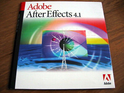 Vintage Apple Power Mac Adobe After Effects 4.1 Production Bundle Program CD