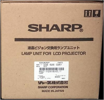 New SHARP XG-NV6XE Genuin Bulb LCD Projector Lamp BQC-XGNV6XE/1 NV6 NV6XE