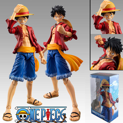 Anime Figma One Piece Straw Hat Monkey D Luffy PVC Action Figure Toy
