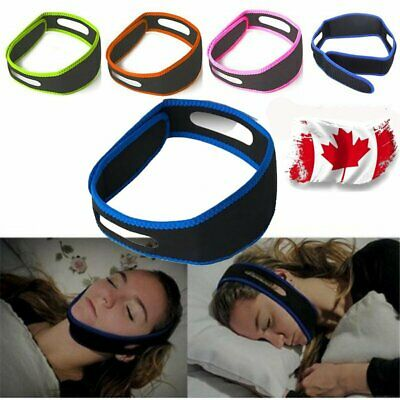 Snore Stop Belt Anti Snoring Cpap Chin Strap Sleep Apnea Jaw Solution Canada