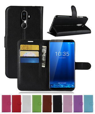 Luxury Shockproof Magnetic PU Leather Wallet Flip Case Cover For Cubot X18 Plus