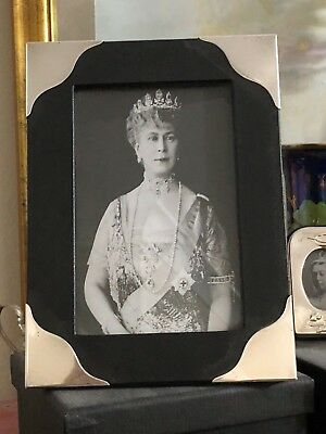 Sterling Silver Edged Cloth Photo Frame - Broadway & CO