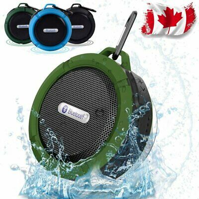 Waterproof Wireless Car Bluetooth Shower Music Speaker Handsfree Canada Stock