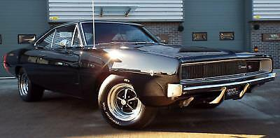 1968 Dodge Charger 440 Big Block V8 Six Pack Manual Best Example!