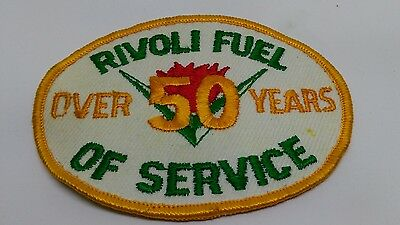 Vintage Rivoli Fuel Patch over 50 years of service