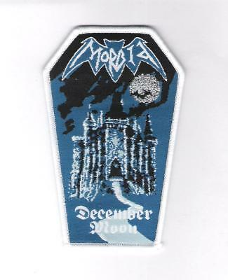 patch embroidered / écusson thermocollant Morbid - December Moon