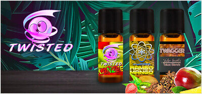 Twisted Mixed Aromen 10ml für E Liquid - Twisted Vaping (46,90 EUR/100 ml)