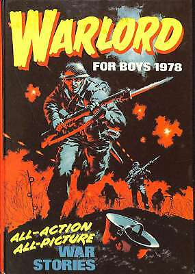 Warlord Book For Boys 1978, , Good Condition Book, ISBN