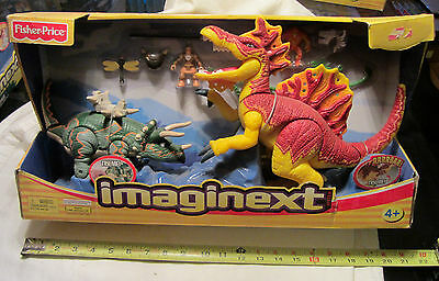 Imaginext RIPPER & TANK Large Dinosaures PlaySet Fisher Price - NEW