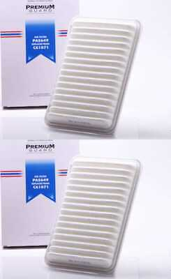 2 New Premium Guard Air Filters fits 07-17 Toyota Camry Venza