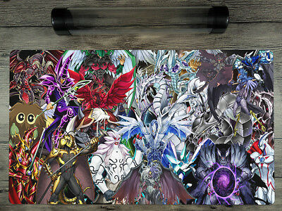 YuGiOh Characters Custom Trading Card Game Duel Playmat TCG Mat Free Best Tube