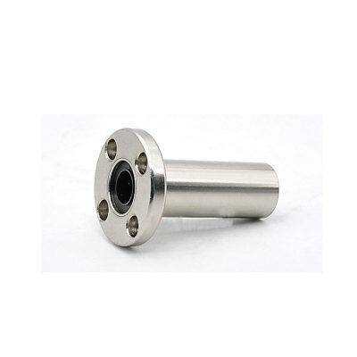 1Pcs LMF8LUU 8mm Nickel-plated Long Round Flange Router Linear Motion Bearing