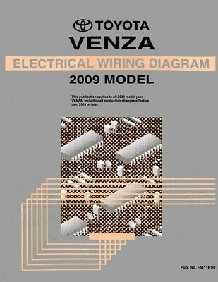 2009 toyota venza wiring diagrams schematics layout factory oem rh picclick co uk toyota venza manual toyota venza manual pdf