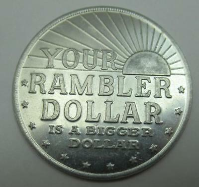 1960's Your Rambler Dollar Token The New Standard of Excellence