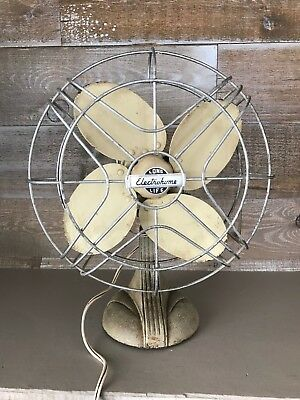 Vintage Electrohome Long Life Electric Fan All Metal