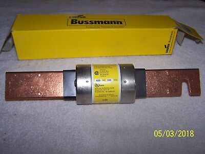 New Cooper Bussman Low Peak Fuse Dual Element/time Delay - Lps-Rk-400Sp - 600Vac
