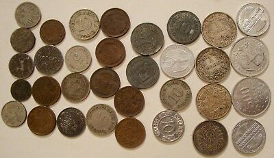 Rare Large Huge Notgeld coin lot Some Silver
