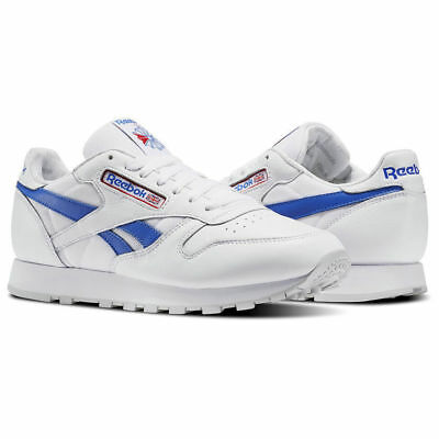 REEBOK CLASSICS LEATHER Mens Trainers Sports Shoes size 9,5