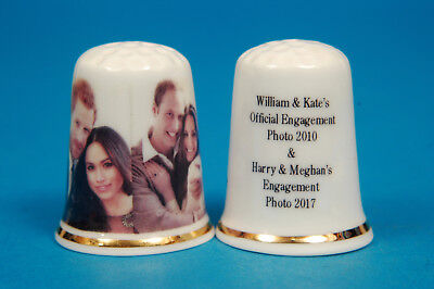 William & Kate, Harry & Meghan Verlobung Fotos China Fingerhut B / 63