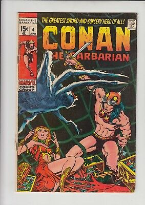 Conan The Barbarian #4 Vg