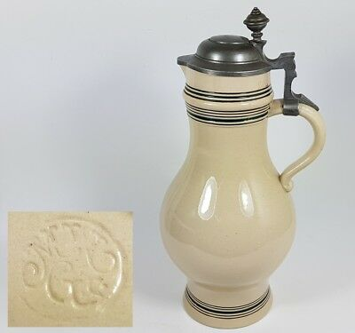 Very Large Mug/PITCHER Ceramics, 2,5L, MERKELBACH & WICK , Um 1900 K511