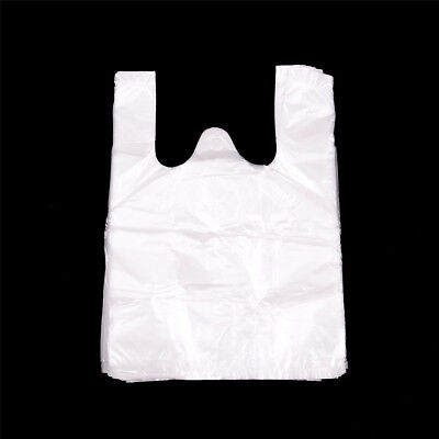 74pcs 17*24cm Retail Merchandise Supermarket Grocery Plastic Shopping Bags 3GT