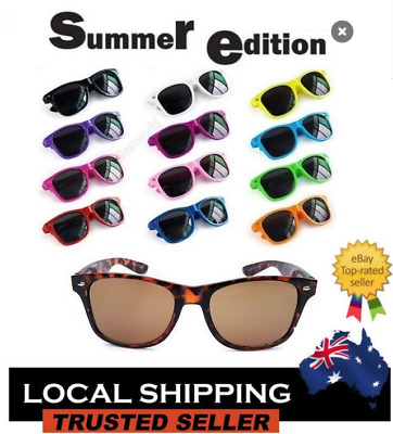 Retro Vintage Sunglasses Unisex Men Women UV400 Free Post in Australia