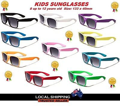 Retro Vintage Kids Sunglasses Girls and Boys UV400 Free Post in Aus.